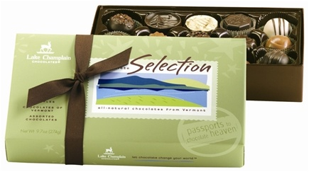 DROPPED: Lake Champlain Chocolates - All Natural 15 Piece Chocolate Selection - 9.7 oz. CLEARANCE PRICED