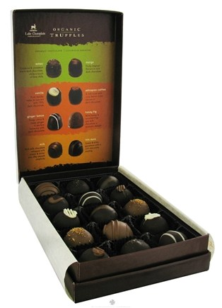 DROPPED: Lake Champlain Chocolates - UNPUBLISHED All Natural Organic Chocolate Truffles - 6 oz.