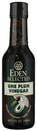 DROPPED: Eden Foods - Ume Plum Vinegar - 5 oz. CLEARANCE PRICED