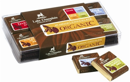 DROPPED: Lake Champlain Chocolates - All Natural Organic Chocolate Squares - 6.7 oz. CLEARANCE PRICED