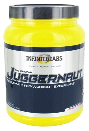 DROPPED: Infinite Labs - Juggernaut Pre-Workout Crimson Punch - 1.76 lbs.