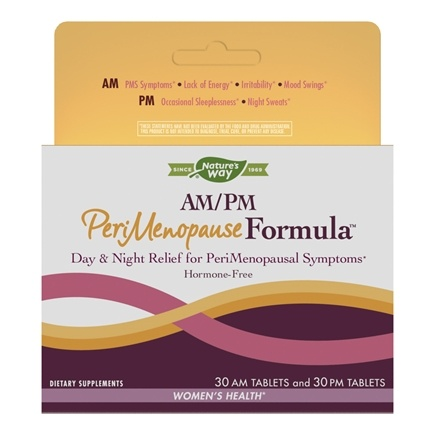 Enzymatic Therapy - AM/PM PeriMenopause Formula - 60 Tablets