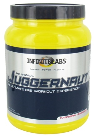 DROPPED: Infinite Labs - Juggernaut Pre-Workout Raspberry Lemonade - 1.75 lbs.