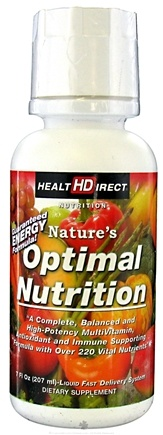 DROPPED: Health Direct - Nature's Optimal Nutrition - 7 oz. CLEARANCE PRICED