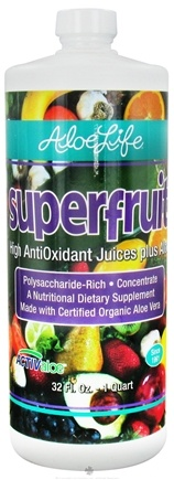 DROPPED: Aloe Life - Aloe Vera Superfruit Juice - 32 oz. CLEARANCE PRICED