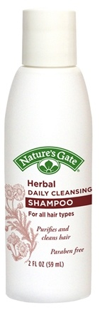 DROPPED: Nature's Gate - Shampoo Herbal Daily Cleansing Trial Size - 2 oz. CLEARANCE PRICED