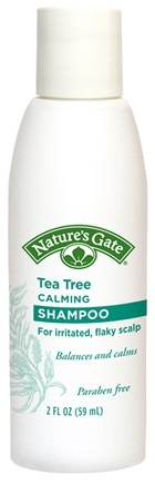 DROPPED: Nature's Gate - Shampoo Tea Tree Calming Trial Size - 2 oz. CLEARANCE PRICED