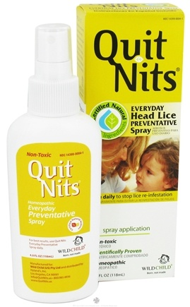 DROPPED: Hylands - Wild Child Quit Nits Head Lice Preventative Spray - 4.2 oz.