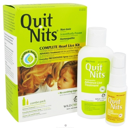 DROPPED: Hylands - Wild Child Quit Nits Complete Head Lice Kit