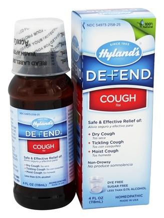 DROPPED: Hylands - Hylands Adult Cough Syrup - 4 oz.