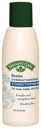 DROPPED: Nature's Gate - Conditioner Biotin Strengthing Trial Size - 2 oz. CLEARANCE PRICED