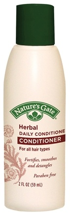 DROPPED: Nature's Gate - Conditioner Herbal Daily Conditioning Trial Size - 2 oz. CLEARANCE PRICED