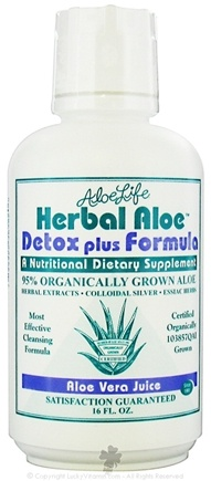 DROPPED: Aloe Life - Herbal Aloe Detox Plus Formula - 16 oz. CLEARANCE PRICED