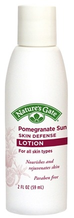 DROPPED: Nature's Gate - Skin Defense Lotion Pomegranate Sunflower Trial Size - 2 oz. CLEARANCE PRICED