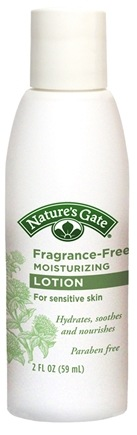 DROPPED: Nature's Gate - Moisturizing Lotion Fragrance-Free Trial Size - 2 oz. CLEARANCE PRICED