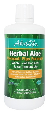 Aloe Life - Herbal Aloe Stomach Plus Formula - 32 oz.