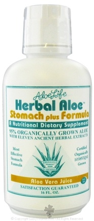 DROPPED: Aloe Life - Herbal Aloe Stomach Plus Formula - 16 oz. CLEARANCE PRICED