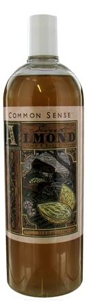 DROPPED: Common Sense Farm - Hand & Body Cleanser Sweet Almond - 33.8 oz. CLEARANCE PRICED