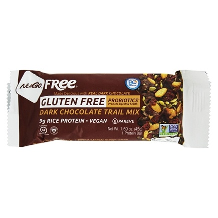 NuGo Nutrition - Gluten Free Bar Dark Chocolate Trail Mix - 1.59 oz.