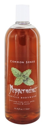 Common Sense Farm - Castile Bodywash Peppermint - 33.8 oz.