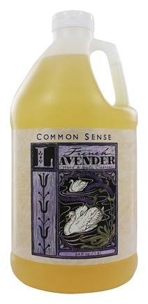 Common Sense Farm - Hand & Body Cleanser French Lavender - 64 oz.