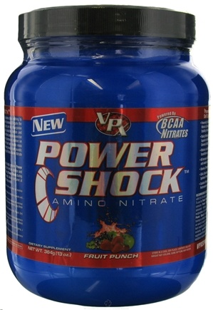 DROPPED: VPX - Power Shock Amino Nitrate 28 Servings Fruit Punch - 13 oz. CLEARANCE PRICED