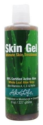 Aloe Life - Skin Gel Unscented - 8 oz.