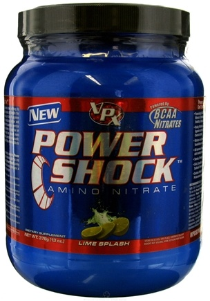 DROPPED: VPX - Power Shock 28 Servings Lime Splash - 13 oz. CLEARANCE PRICED