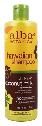 Alba Botanica Hawaiian Hair Wash Coconut Milk