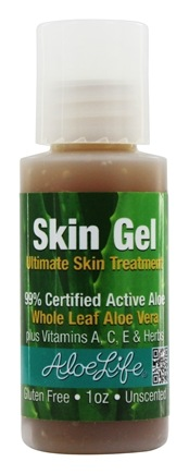 Aloe Life - Skin Gel Unscented - 1 oz.