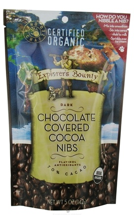DROPPED: Explorer's Bounty - Dark Chocolate Covered Cocoa Nibs - 4.1 oz.