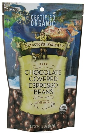 DROPPED: Explorer's Bounty - Dark Chocolate Covered Expresso Beans - 5 oz.
