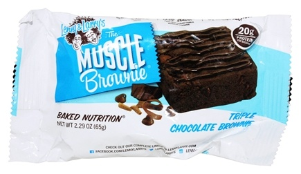 Lenny & Larry's - Muscle Brownie Triple Chocolate - 2.82 oz.