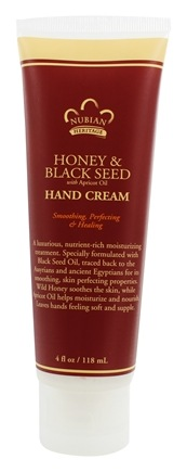 Nubian Heritage - Hand Cream Honey & Black Seed with Apricot Oil - 4 oz.