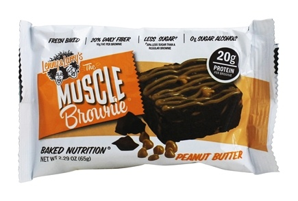 Lenny & Larry's - Muscle Brownie Peanut Butter - 2.82 oz.
