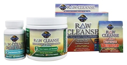 Garden of Life - RAW Cleanse 3 Step Kit