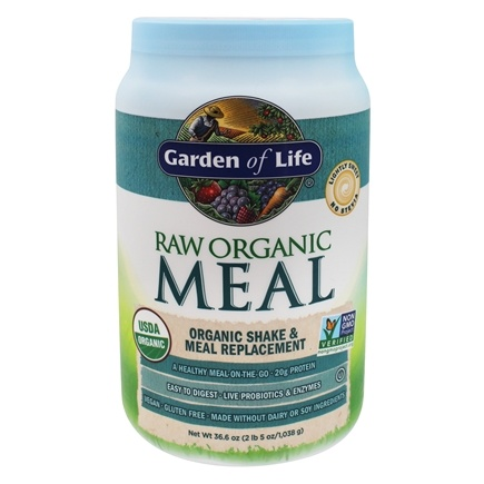 Garden of Life - RAW Meal Organic Shake & Meal Replacement Original - 32 oz.
