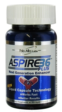 DROPPED: Palo Alto Labs - Aspire 36 Plus Male Enhancement Supplement - 30 Capsules