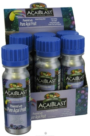 DROPPED: Garden Greens - AcaiBlast Instant Energy Shot - 2 oz.