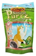 Zuke's - Natural PurrZ Moist Cat Treats Savory Salmon - 3 oz.