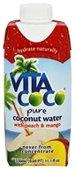Vita Coco - Coconut Water 330 ml. Peach & Mango - 11.1 oz.