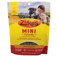 Zuke's - Mini Naturals Dog Treats Roasted Chicken Formula - 6 oz.