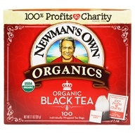 Newman's Own Organics - Organic Royal Black Tea - 100 Tea Bags