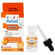 Homeolab USA - Kids Relief Teething For Kids 0-9 Orange Flavor - 0.85 oz.