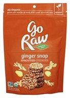 Go Raw - Sprouted Cookies Ginger Snap - 3 oz.