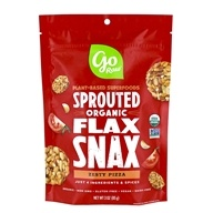Go Raw - Sprouted Flax Snax Zesty Pizza - 3 oz.