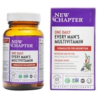 New Chapter - Every Man's One Daily - 48 Tablets