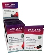 Oxylent - Multivitamin Drink Sparkling Blackberry Pomegranate - 30 Packet(s)