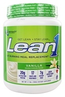 Nutrition 53 - Lean1 Fat Burning Meal Replacement Vanilla - 1.7 lbs.