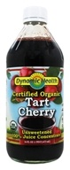 Dynamic Health - USDA Organic Juice Concentrate 100% Pure Tart Cherry - 16 oz.